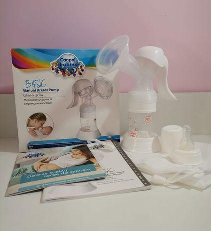 Молокоотсос Canpol Babies Basic ручного типу