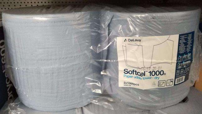 Softcel - suche ręczniki papierowe Delaval 2x1000 listków, 30x35 cm