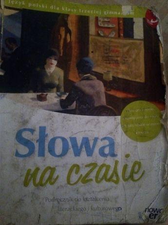 Słowa na czasie /podręcznik do języka polskiego