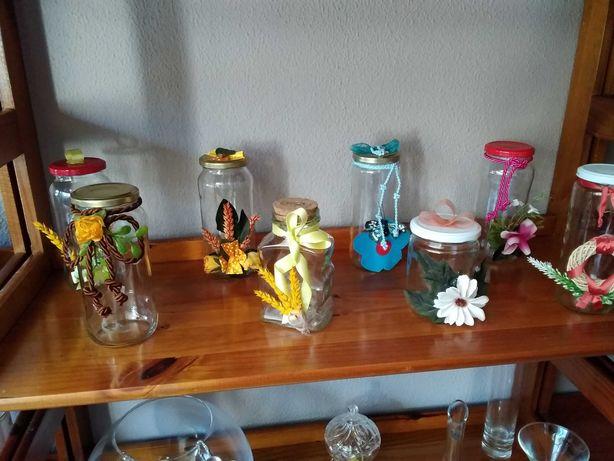 Frascos em vidro e/ou plástico