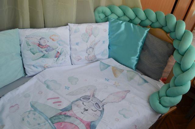 дитячі бортики, захист на дитяче ліжечко