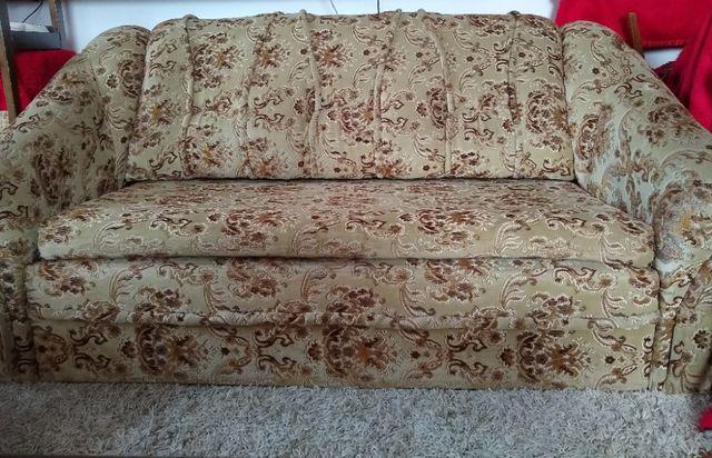 Komplet wypoczynkowy TINA (kanapa+2 fotele+2 pufy) rozkładane