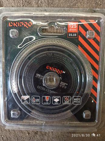 Продам алмазный диск Dnipro-M Extra-Ceramics 125 22,2 мм