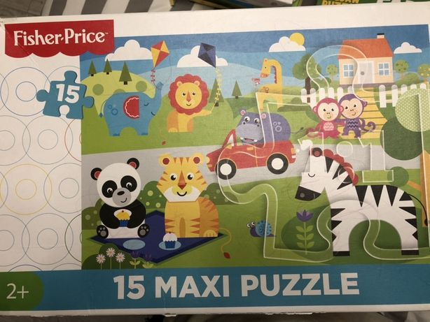 Puzzle fisher price 2+