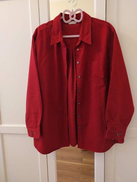 Czerwona koszula Marks&Spencer