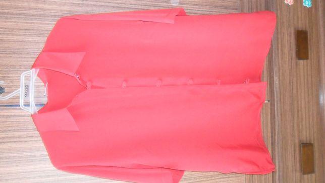 czerwona koszula elegancka rozm. 42