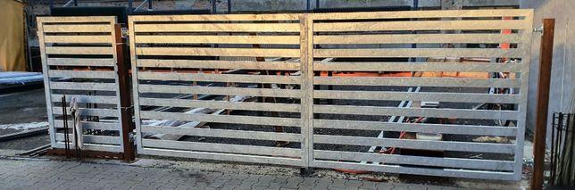 Brama panelowa ocynkowana profil 80x20x1,5 800 zł