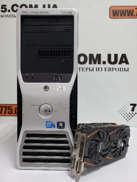 Игровой компьютер Intel 8 потоков, GTX 1060, 8GB DDR3, SSD+HDD