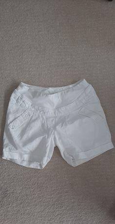 Ubrania H&M hm ciuchy ciążowe spodenki L