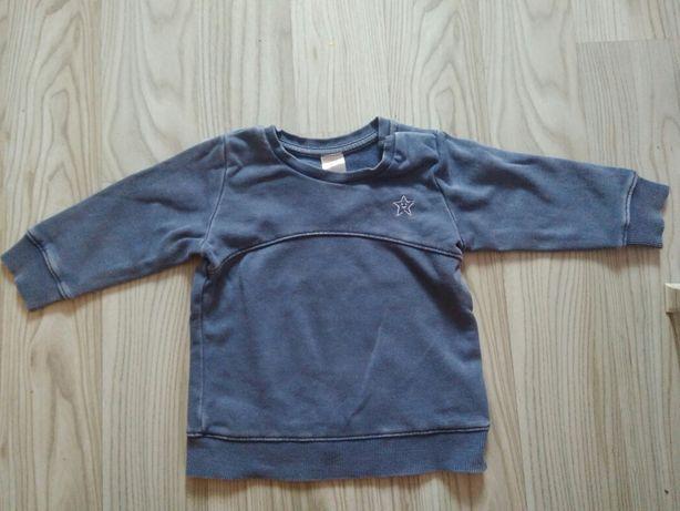 Sprana niebieska bluza h&m roz 68.