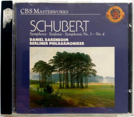Schubert Symphony No. 3 No. 4  1989r