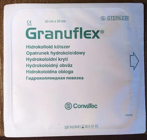 Granuflex 20x20 cm - opatrunek hydrokoloidowy