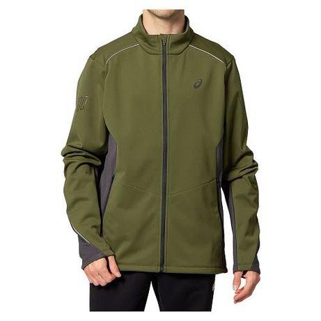 Kurtka męska do biegania Asics LITE-SHOW Winter Jacket 2011B062