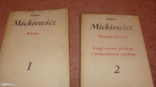 Książki -Dzieła Mickiewicza dwa tomy