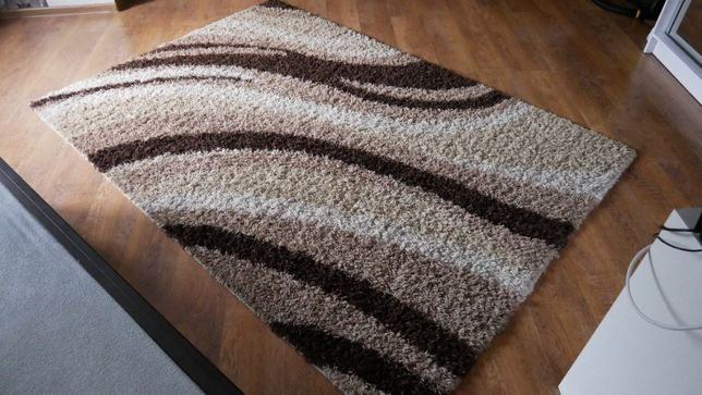 Dywan 160x230 Long Shaggy Natural Made in Turkey