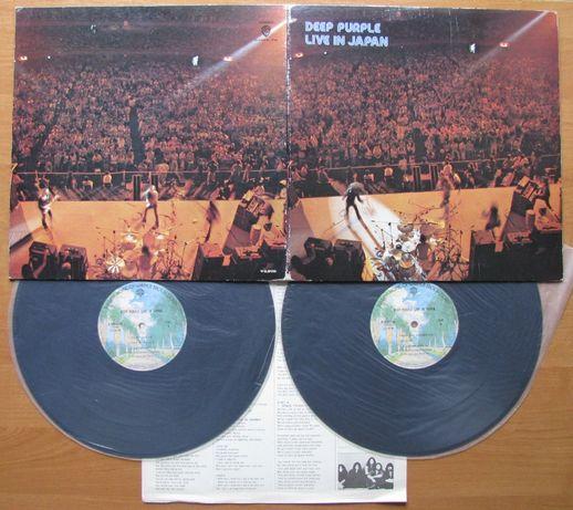 Платівка Deep Purple - Live In Japan (LP, Japanese Press, VG+/EX+)