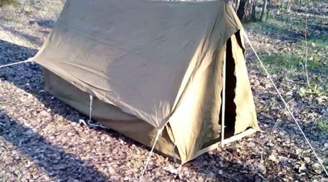 Продам брезентовую палатку малютку 2х1,1х1,2