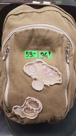 Nowy plecak szkolno - wycieczkowy