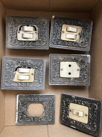 Tomadas e interruptores antigos