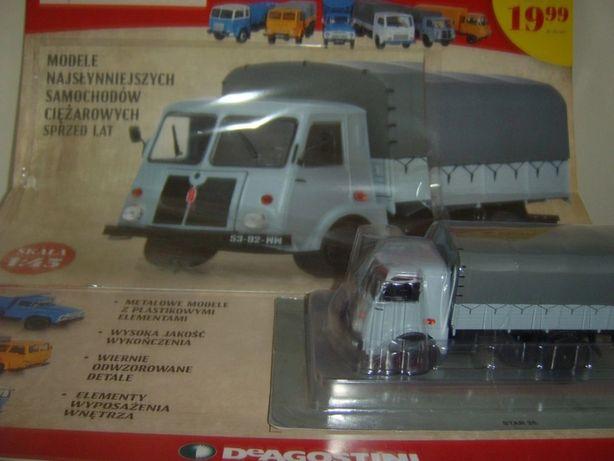 STAR 25 Kultowe Ciężarówki PRL-u nr 1 DeAgostini