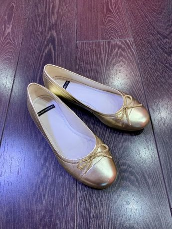 Нарядные балетки туфельки