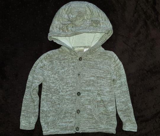 Sweterek zapinany na guziki LUPILU Rozm. 86/92 NOWY