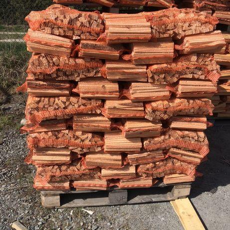 Drewno rozpałkowe,duże worki!