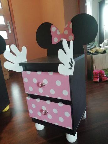 Szafka dla dziecka nakastlik myszka Mickey Minnie