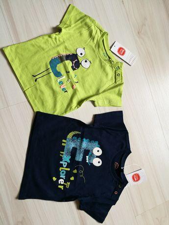 Nowe koszulki bluzki bluzeczki cool club coolclub smyk 68