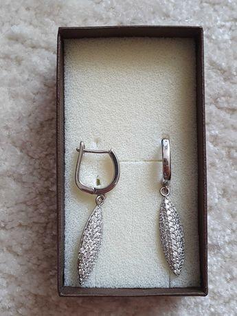 Kolczyki srebrne 925