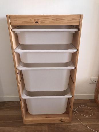 Arrumação Trofast IKEA com caixas NOVO