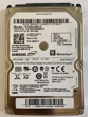 Hdd диск. Samsung 500 gb.
