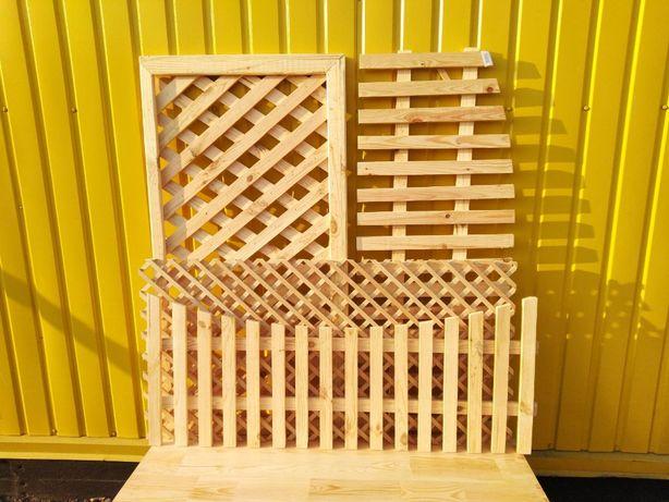 Заборчик, забор деревянный, забор декоративный Решетка деревянная