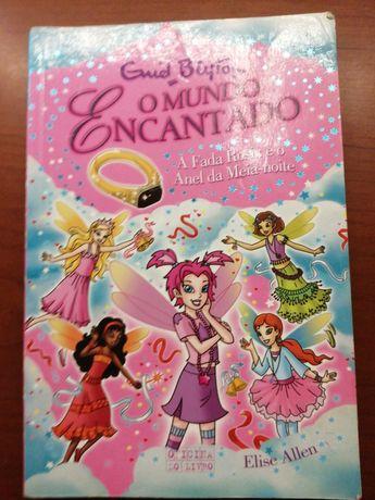 """Livro infantil """"O mundo encantado"""""""