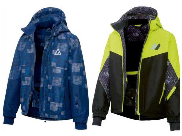 р. 122-164, новая! лыжная куртка термо мембрана 3К, Crivit, Германия