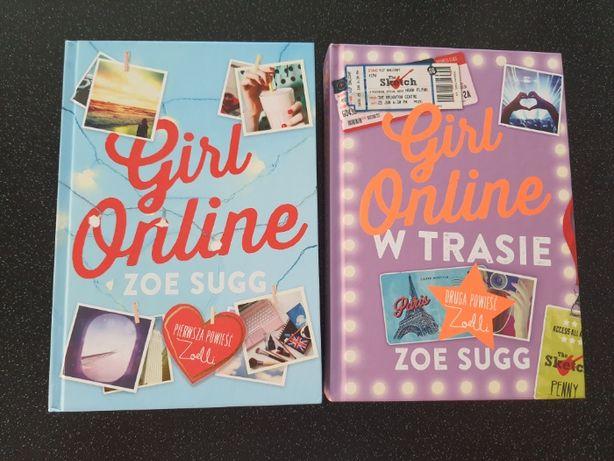 Książki Zoe Sugg Girl Online, Girl online w trasie - 2 szt.