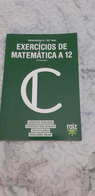 Vendo livro Matemática A 12 ano