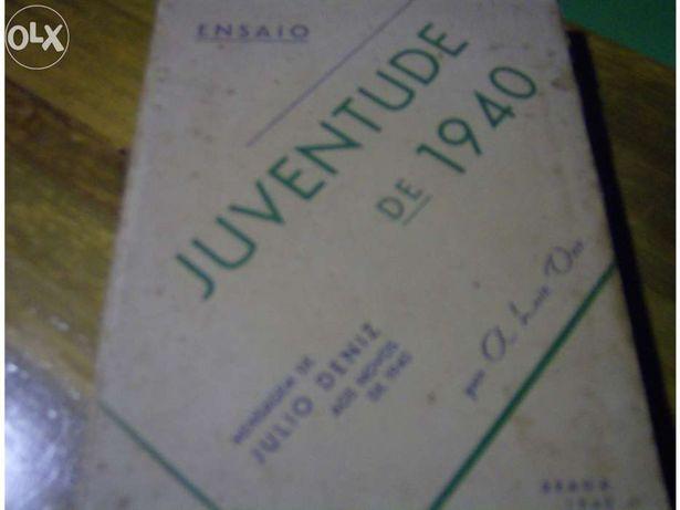 Livro Juventude de 1940  de A Luiz Vaz