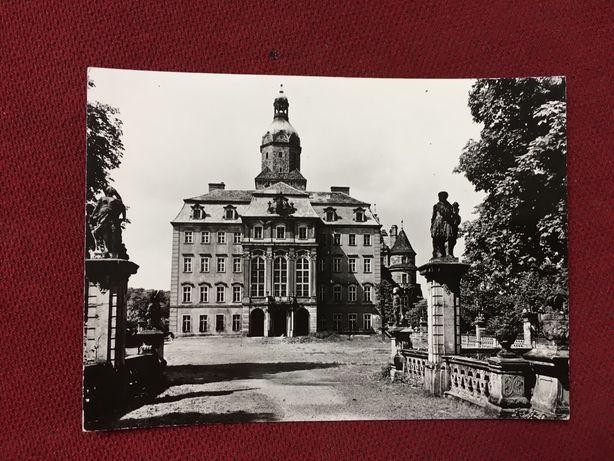 Stara Pocztówka zamek Książ