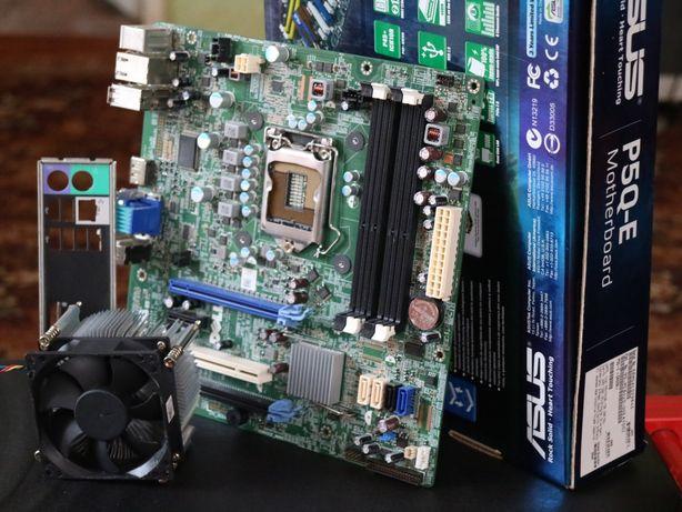 Материнская плата от комп'ютера dell optiplex 790,730 (1155) +куллер