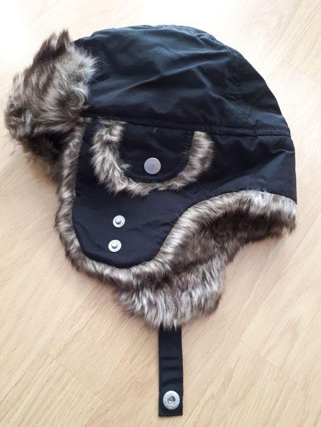 Ciepła czapka H&M pilotka NOWA (brak metki)