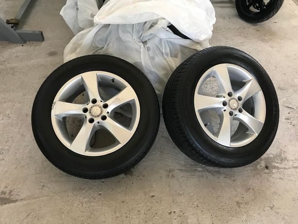 Комплет колес на Vito 225/60/17 Бриджстоун комплект 4 шт