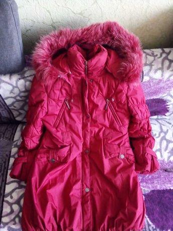 Зимний пальто размер 134