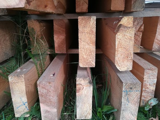 Tarcica budowlana, drewno konstrukcyjne, więźba dachowa, krokwie deski