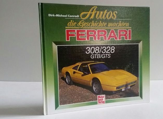 Książka Ferrari 308/328 GTB/GTS
