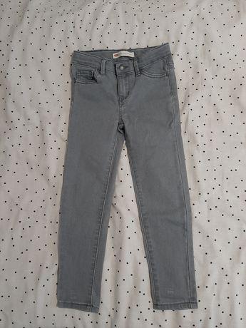 Levis levi's spodnie jeansy jak nowe 110cm szare
