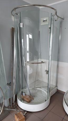 Kabina prysznicowa prawa i lewa nowa drzwi na zawiasy