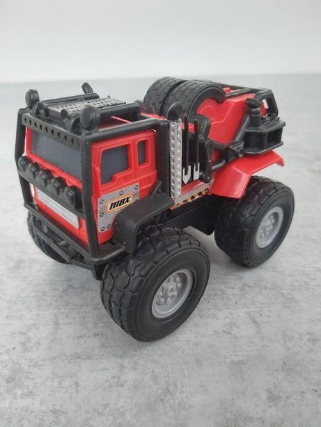 Инерционная машинка джип внедорожник, Mattel