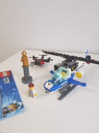 Lego City pościg policyjny 60207 zestaw