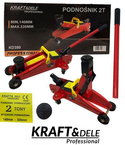 KRAFT&DELE podnośnik hydrauliczne ŻABA 2T SAMOCHODOWY lewarek